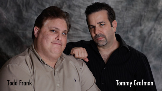 Todd Frank and Tommy Grafman MacMyDay