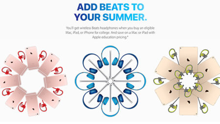 Apple Free Beats Headphones with eligible Mac* is still on!