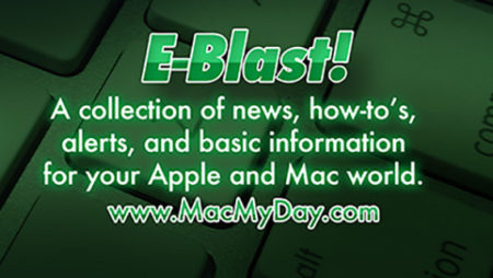 MacMyDay eBlast: PROTECT YOUR DATA FROM FIRES AND CATASTROPHES!