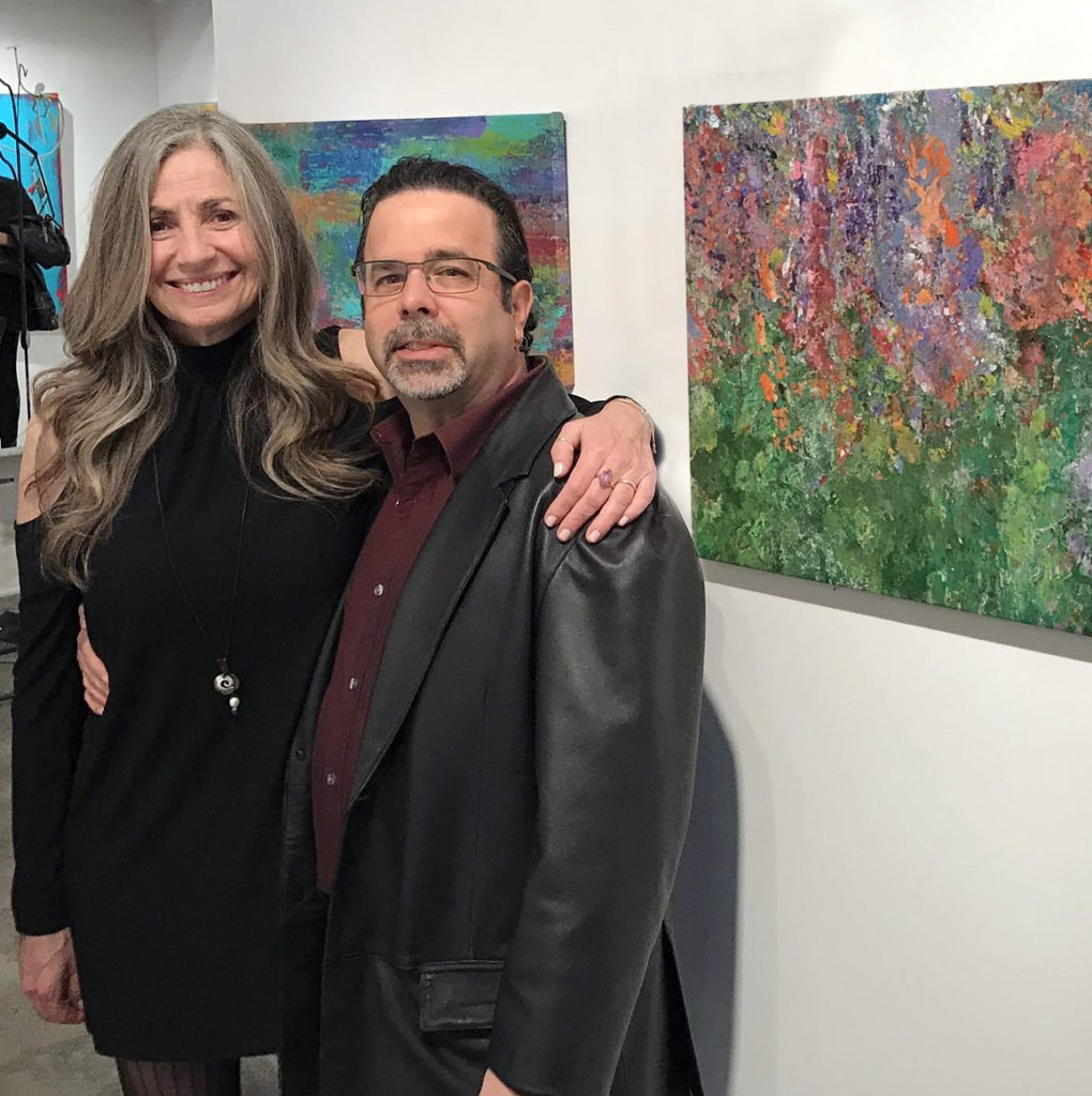 Robbie Kaye and MacMyDay's Tommy Grafman at Beyond The Lines Gallery