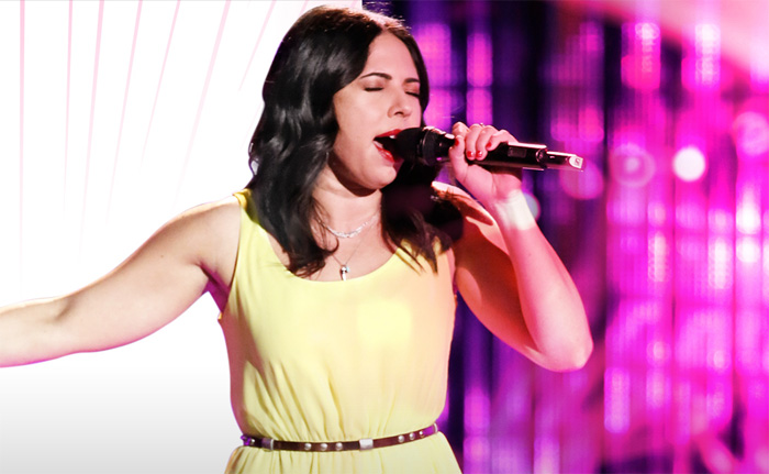 Val Ponzio on NBC's The Voice