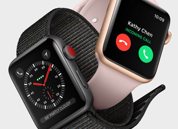Apple Watch Series 3 with built-in cellular