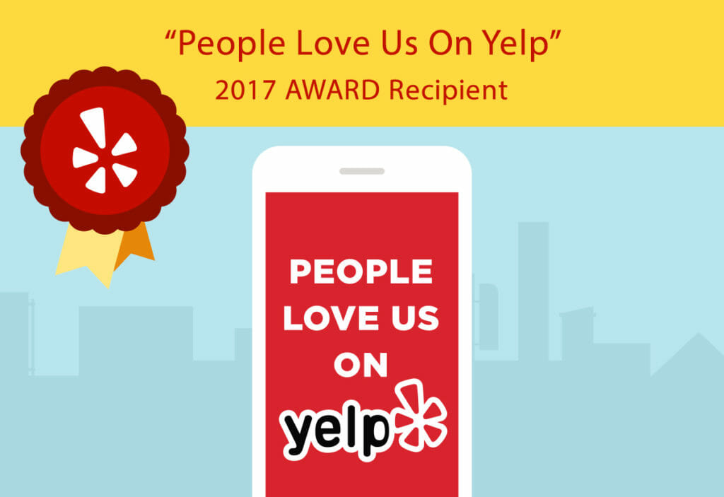 2017 People Love Us On Yelp award recipient