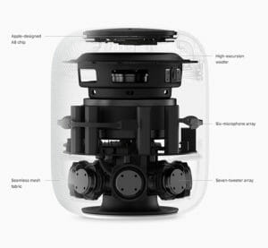 Apple HomePod transparent