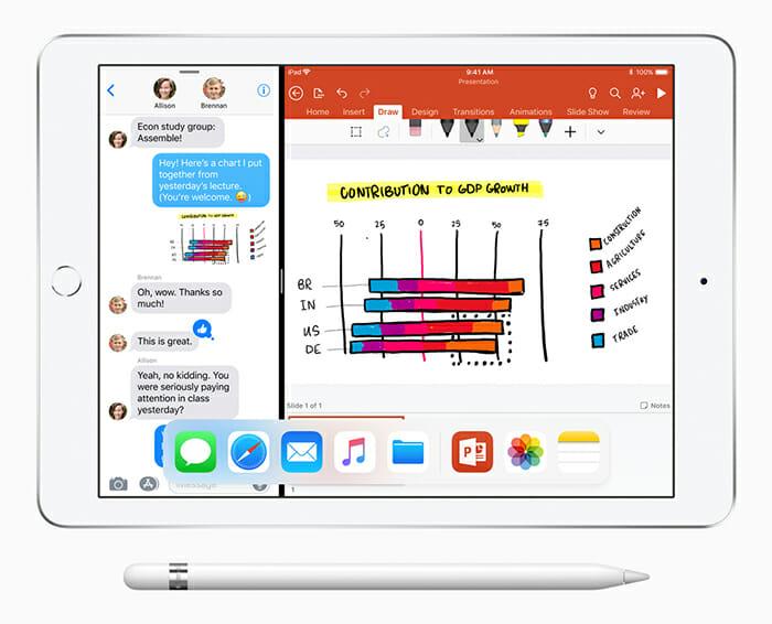 Apple iPad with Apple Pencil