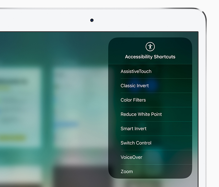 Apple accessibility for Deaf and Blind