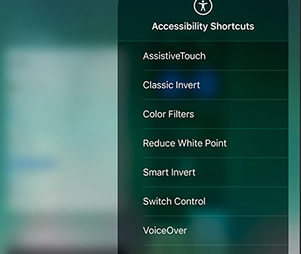 Apple accessibility for Blind and Deaf