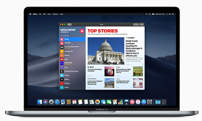 Apple WWDC18 MacOS Mojave