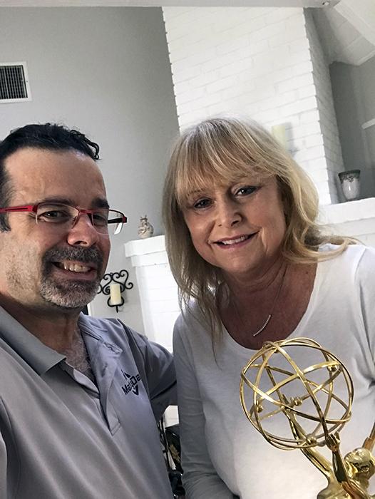 MacMyDay client and Emmy Award winner Kimber