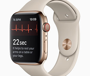 Apple Watch Series 4 with New Display, Electrocardiogram and Fall Detection