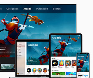 Apple introduces Apple Arcade — the world's first game subscription service for mobile, desktop and the living room