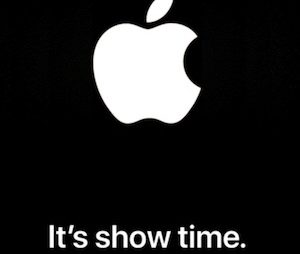 "Apple ""It's Show Time"" special event for March 25th"