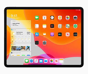 The new Apple iPadOS designed for the iPad