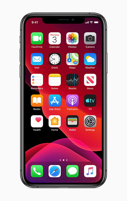 Apple iOS13