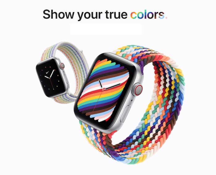 "Apple Watch Braided Solo Loop ""Pride Edition"""