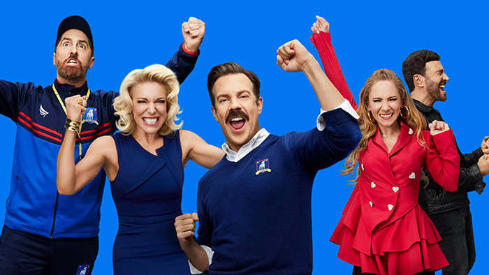 """""""Ted Lasso"""" honored with seven awards as Apple TV+ earns 11 Emmy Awards across five programs"""